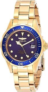 Invicta Men's Pro Diver 37.5mm Gold Tone Stainless Steel Quartz Watch, Gold (Model: 17052)