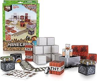 Minecraft Papercraft - Minecart Set, Over 48 Piece