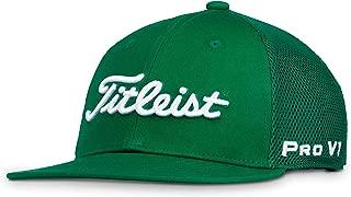 Titleist Men's Tour Flat Bill Mesh Golf Hat