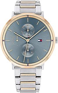 ساعة جينا من تومي هيلفجر بمينا ازرق للنساء - 1782298