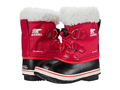 SOREL Kids Yoot Pactm Nylon (Toddler/Little Kid) (Bright Rose) Kids Shoes