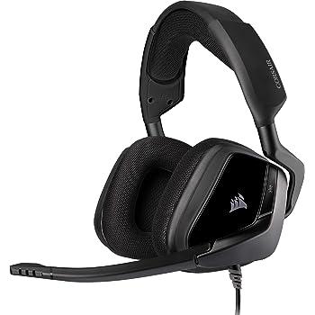 Corsair VOID ELITE Surround Gaming Headset (7.1 Surround Sound, Mikrofaser und Memory-Schaumstoff Ohrpolster, für PC, Xbox One, PS4, Switch und Mobilgeräte) carbon