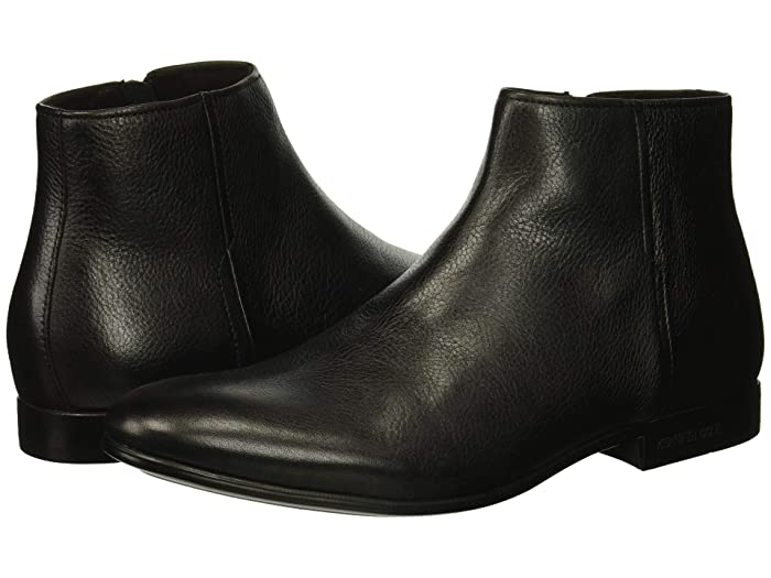 Kenneth Cole New York  Mix Zip Boot (Black) Mens Dress Boots