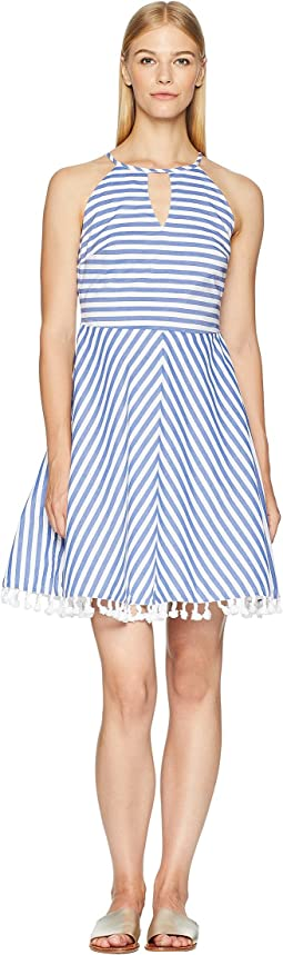 Stripe Dress Cover-Up