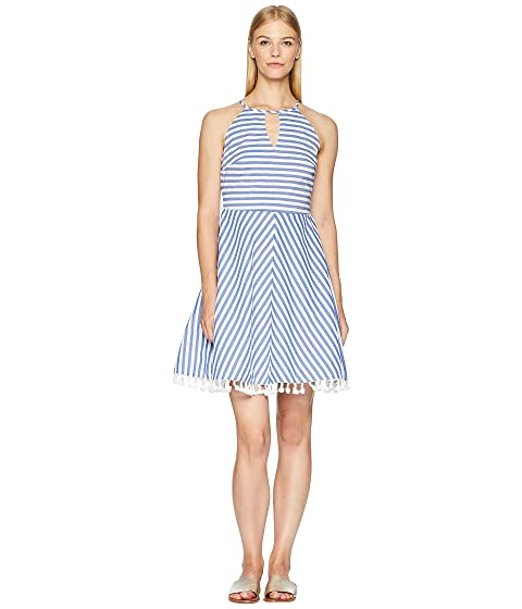 Letarte Stripe Dress Cover-Up