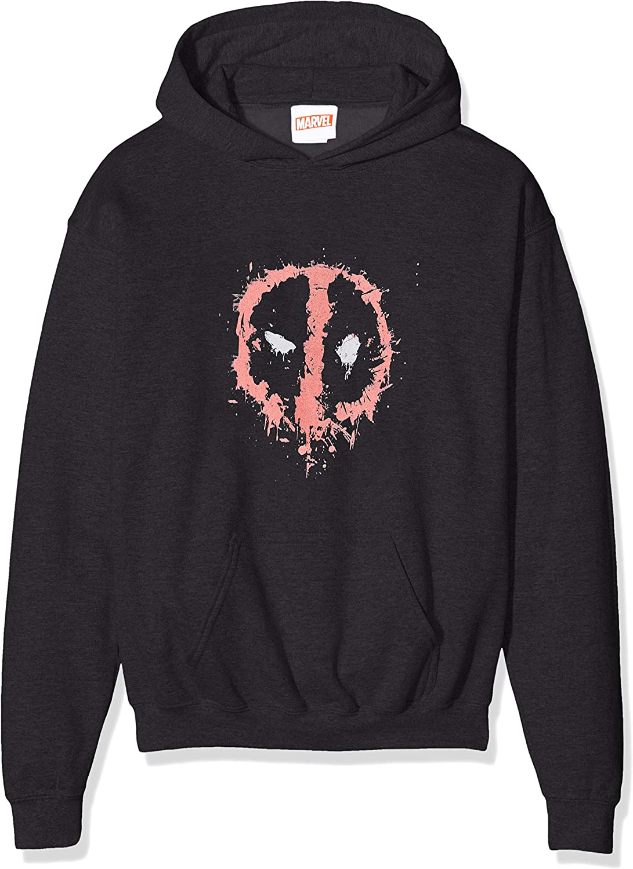 MARVEL Boys Deadpool Splat Face T-Shirt