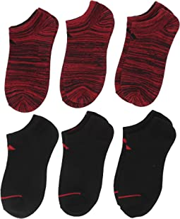 Superlite No Show Socks 6-Pack (Little Kid/Big Kid/Adult)