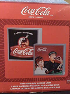 Coca Cola Two-Sided Box Accent Lamp