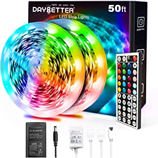 Daybetter 5050 RGB Infrared Remote Control Color Changing...