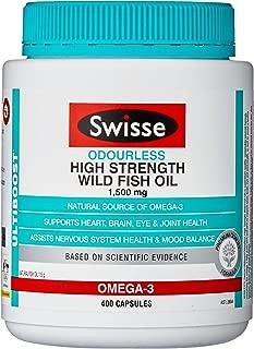 Swisse Ultiboost High Strength Odrls Wild Fish Oil 1500Mg 400 Capsules