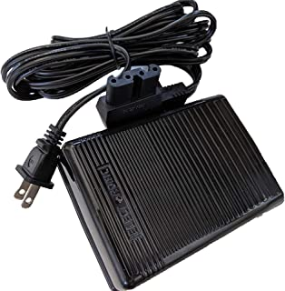 NgoSew Speed Control Foot Pedal + Cord Works with Bernnina 830,831,800 Round pins Type