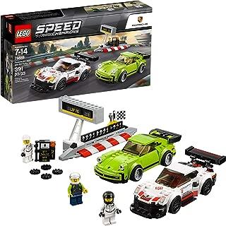 LEGO Speed Champions Porsche 911 RSR and 911 Turbo 3.0 75888 Building Kit (391 Piece) (Renewed)