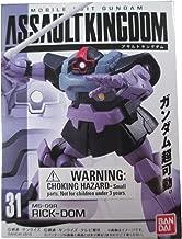 Mobile Suit Gundam Assault Kingdom 8 MS-09R Rick-Dom Gundam Action Figure