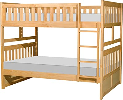 Lexicon Bunk Bed, Twin/Twin, Natural