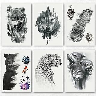 Best bear leg tattoo Reviews