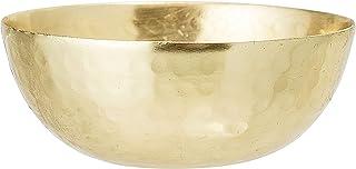 Bloomingville A82043350 Pinch Pot, Gold