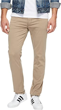 Blake Slim Straight Twill in Sandman
