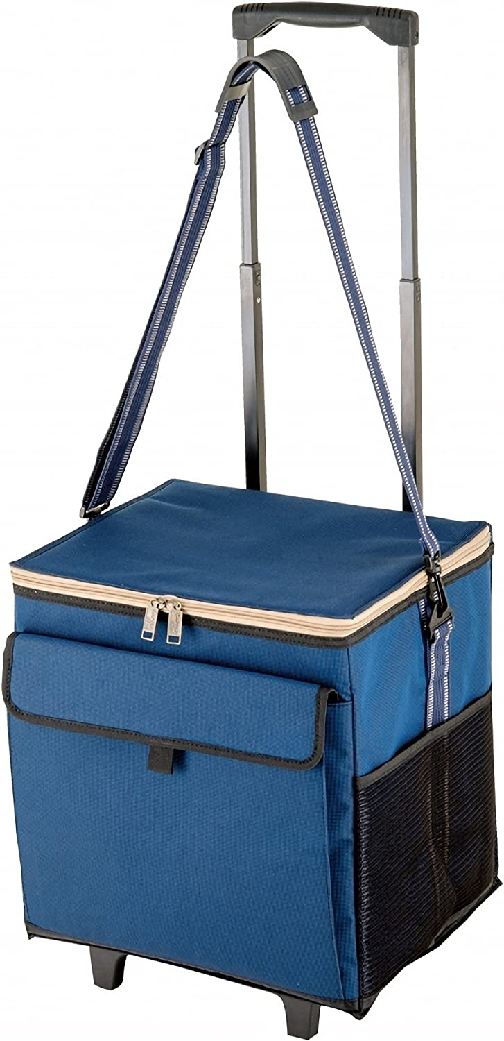 Carttype cooler bag captain stag with barbecue Cooler bag carry Delice 33L UE530 UE530