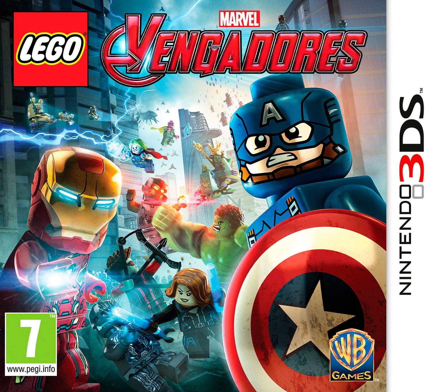LEGO Vengadores - Edición Estándar - Nintendo 3DS: Amazon.es ...