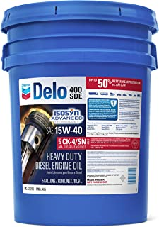 Delo 222290428 400 SDE SAE 15W-40 Motor Oil - 5 Gallon Pail