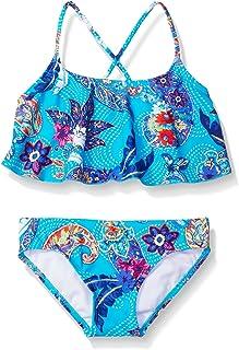 ثوب سباحة Kanu Surf ميلودي بيزلي كشكشة شاطئ رياضة 2 قطعة