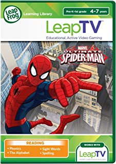 LeapFrog LeapTV Ultimate Spider-Man Educational, Active Video Game (Renewed)