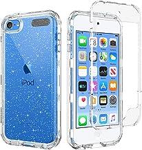 BENTOBEN iPod Touch 7th Generation Case, iPod Touch 6th / 5th Generation Case, Transparent Clear 3 in 1 Heavy Duty Rugged ...