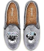 Flower Pug Slip-On Sneaker