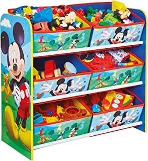 Disney Mickey Mouse Enfants Chambre à Coucher Meuble de Rangement avec 6bacs par HelloHome