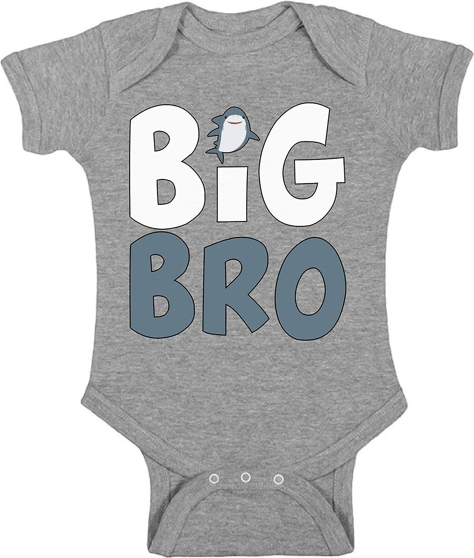 Awkward Styles Big Brother Shark Romper Big Bro Outfit Big Brother Funny Shark Bodysuit