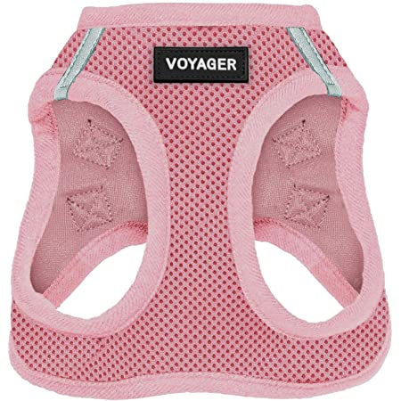 Voyager Step-in Air Dog Harness - All Weather Mesh Step in Vest Harness for Small and Medium Dogs by Best Pet Supplies