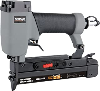 "NuMax SP123 Pneumatic 23 Gauge 1"" Micro Pin Nailer Ergonomic and Lightweight Pin.."