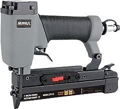 "NuMax SP123 Pneumatic 23 Gauge 1"" Micro Pin Nailer Ergonomic and Lightweight Pin Nail Gun with Pin Size Selector and Safety Trigger"