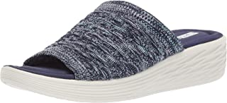 RYKA Women's Nanette Slide Sandal, Medium Blue, 7 M US