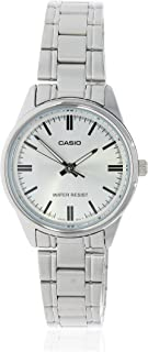 Casio Watch For Women - Stainless Steel - LTP-V005D-7AUDF
