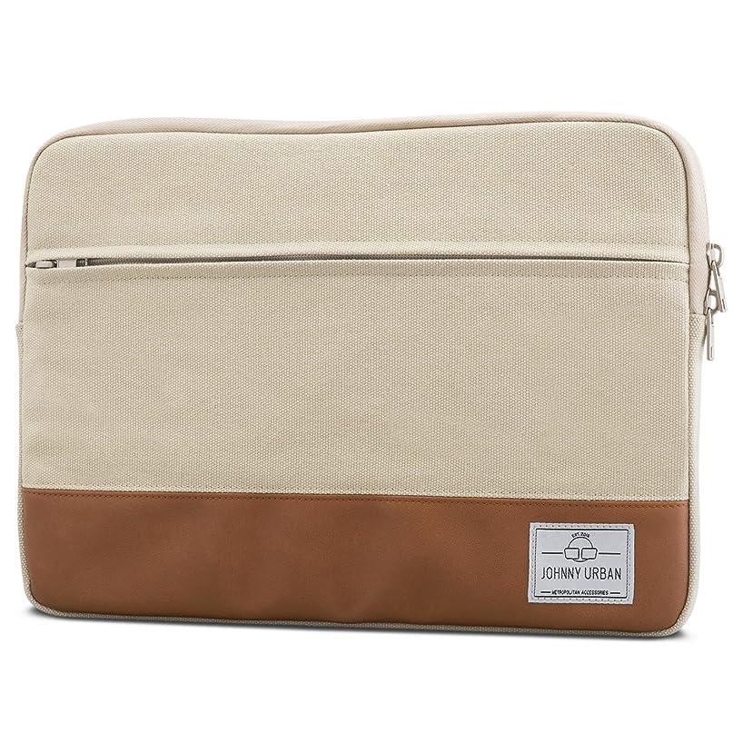 Laptop Sleeve 15 - 15.6 Inch Sand - Johnny Urban Canvas Bag for 15