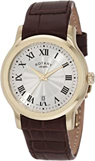Men's GS00037/21 Timepieces Classic Strap Watch