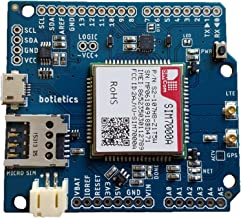 Botletics SIM7000 LTE CAT-M1 NB-IoT Cellular + GPS + Antenna Shield Kit for Arduino (SIM7000A)