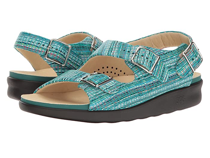 SAS Relaxed (Rainbow Teal) Women's Shoes