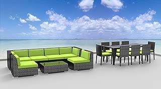 UrbanFurnishing.net 16piece Patio Furniture, 16 Piece, Lime Green