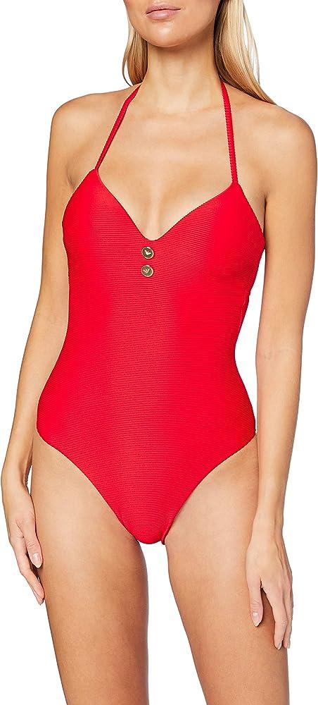 Emporio armani swimwear, ,costume da bagnoper donna,87% poliestere, 13% elastan 0P307262642