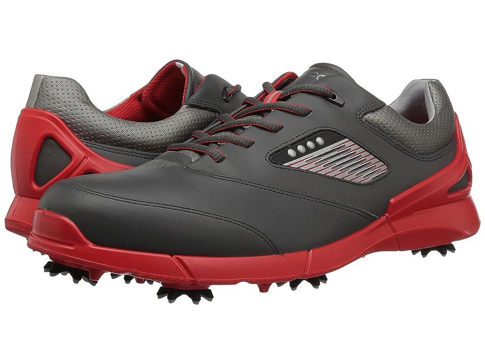 ECCO Golf Base One Hydromax (Black/Scarlet) Men