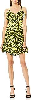Parker Women's Erica Sleeveless V-Neck Ruffle Fitted Mini Dress