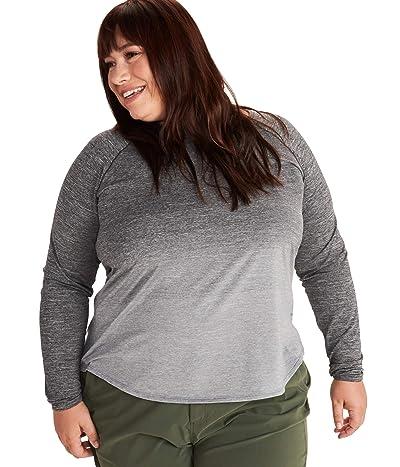 Marmot Plus Size Cabrillo Long Sleeve (White) Women