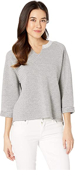 Champ Remix Striped Eco-Fleece Sweatshirt