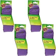Scotch-Brite Clean & Rinse Scrubber - 2 ct, 4 Pack (Total 8 sponges)