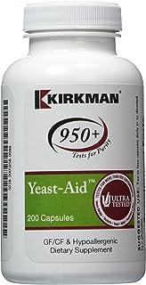 Kirkman Labs, Yeast-Aid Advanced Formula 200 caps