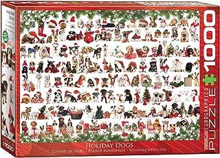 Eurographics 1000pcs - Holiday Dogs