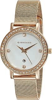 Giordano Analog Silver Dial Women's Watch - 2861-44