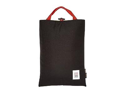 Topo Designs Laptop Sleeve (Black) Bags
